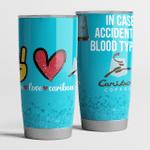 Peace love caribou coffee