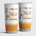 I Will Eat Whataburger Here Or There Tumbler Cup