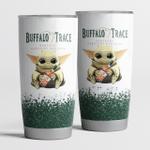 Baby Yoda loves Buffalo Trace Tumbler Cup