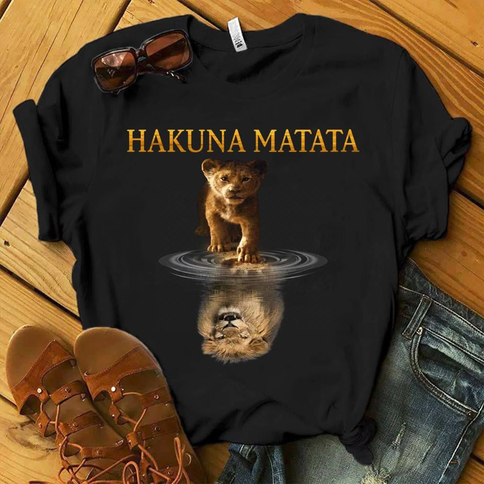 The Lion King Hakuna Matata T Shirt Unisex T-shirt