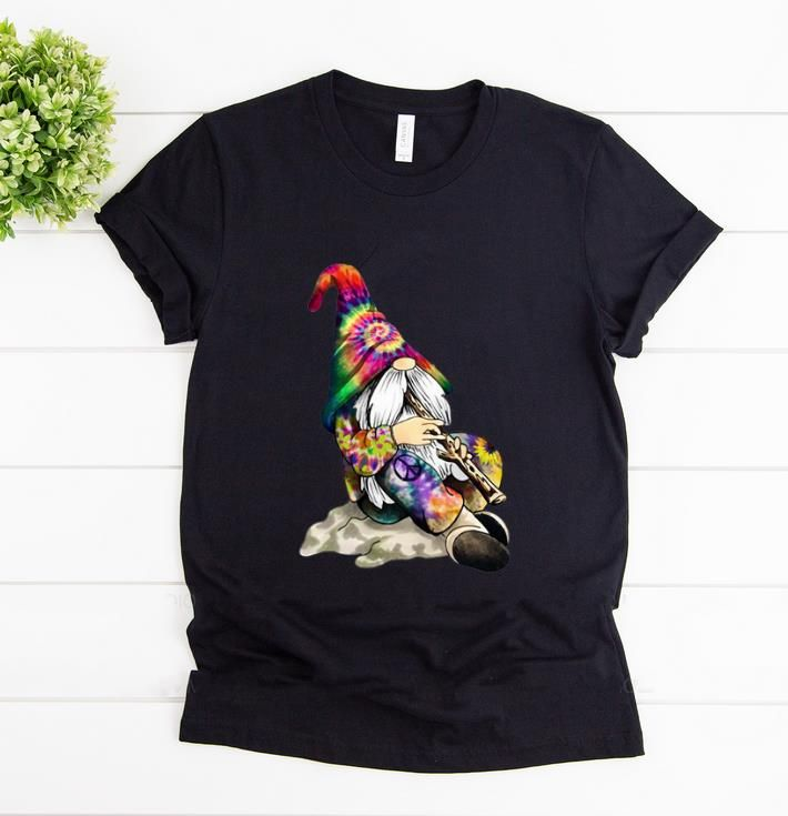 Pretty Hippie Peace Gnome Peace Hope Love T Shirt Unisex T-shirt