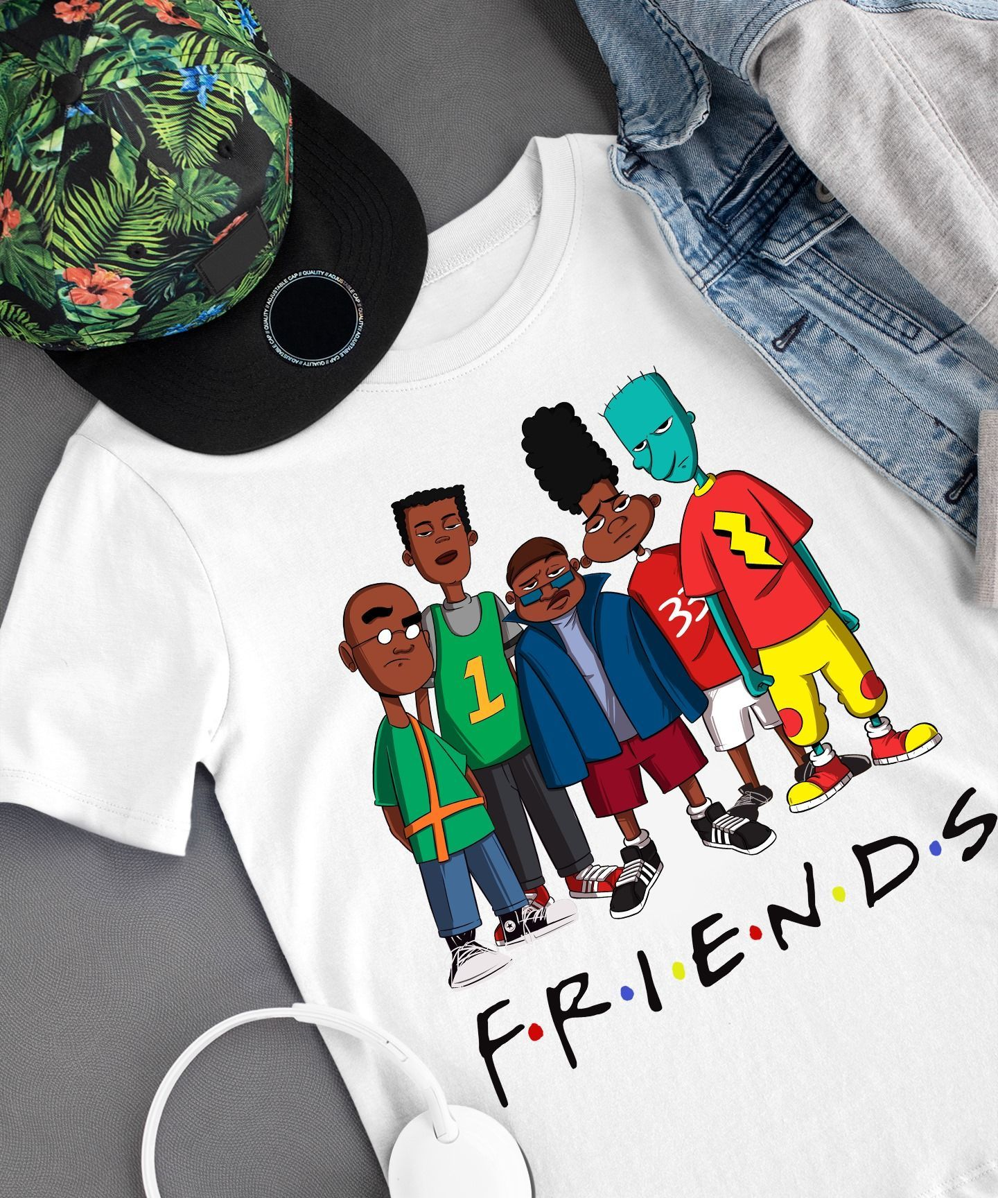 Official We Are Black Friends Tv Show T Shirt Unisex T-shirt