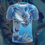 Digimon Garurumon 3D T-shirt