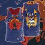 One Piece Ace Sabo New Unisex 3D Tank Top
