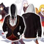 RWBY Beacon Academy Uniform Zip Up Hoodie
