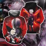 Tokyo Ghoul Kaneki Ken New Unisex 3D Hoodie