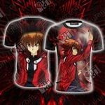 Yu Gi Oh! Yuki Judai 3D T-shirt