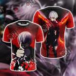 Tokyo Ghoul Kaneki Ken New Unisex 3D T-shirt