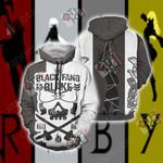 RWBY Black Fang 3D Hoodie