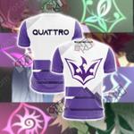 Yu Gi Oh! Zexa - Quattro Unisex 3D T-shirt