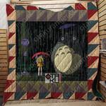 Studio Ghibli My Neighbor Totoro 3D Quilt Blanket