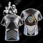 Yu Yu Hakusho Deathly Detectives ( black ) Unisex 3D T-shirt