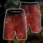 Saint Seiya - Phoenix Symbol Beach Shorts