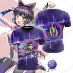 RWBY Blake Belladonna New Look Unisex 3D T-shirt