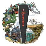 Studio Ghibli Totem Pole Jogging Pants