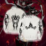 RWBY Blake Belladonna Symbol 3D Sweater