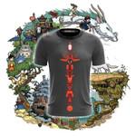 Studio Ghibli Totem Pole Unisex 3D T-shirt