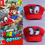Super Mario Odyssey Hat Cosplay Cap