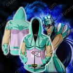 Saint Seiya Dragon Shiryu Cosplay Zip Up Hoodie