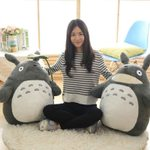 Totoro Doll Toy Large Size Pillow