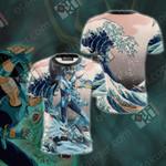 Saint Seiya Dragon Shiryu Unisex 3D T-shirt