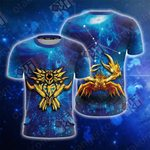 Saint Seiya Knights Of The Zodiac Cancer Unisex 3D T-shirt