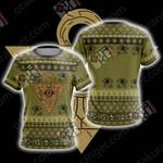 Yu-Gi-Oh! - Milennium Puzzle New Unisex 3D T-shirt