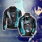 Sword Art Online - Kirito New Unisex 3D Hoodie