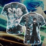 Sword Art Online - Kirito New Unisex 3D T-shirt