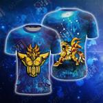 Saint Seiya Knights Of The Zodiac Leo Unisex 3D T-shirt