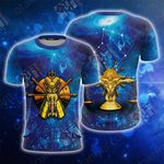 Saint Seiya Knights Of The Zodiac Libra Unisex 3D T-shirt