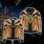 Yu-Gi-Oh! - Milennium Puzzle Unisex Zip Up Hoodie Jacket