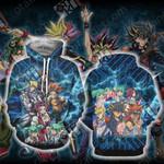 Yu-Gi-Oh! 5D's Unisex 3D Hoodie