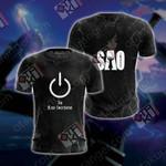 Sword Art Online - Kirito Unisex 3D T-shirt