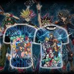 Yu-Gi-Oh! 5D's Unisex 3D T-shirt