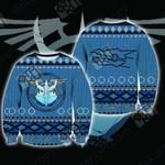 Yu-gi-oh! - Stardust Dragon Knitting Style Unisex 3D Sweater