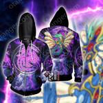 Yu-Gi-Oh! Ancient Fairy Dragon 3D Zip Up Hoodie