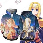 Sword Art Online Alice Zuberg 3D Hoodie