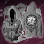 RWBY House Belladonna Live Free Of Die Zip Up Hoodie