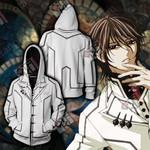 Vampire Knight Kaname Kuran Cosplay Unisex Zip Up Hoodie Jacket
