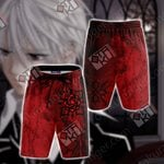 Vampire Knight Symbol Unisex 3D Beach Shorts