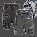 Yu-Gi-Oh! Blue Eyes White Dragon Beach Shorts