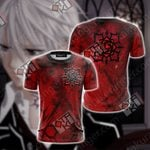 Vampire Knight Symbol Unisex 3D T-shirt