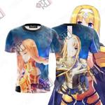 Sword Art Online Alice Zuberg Unisex 3D T-shirt