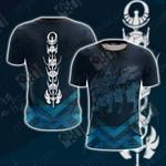 Saint Seiya Symbol Unisex 3D T-shirt