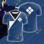 Samurai Champloo - Jin Unisex 3D T-shirt