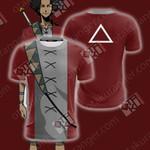 Samurai Champloo - Mugen Unisex 3D T-shirt