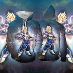 Vegeta Super Saiyan Dragon Ball 3D Hoodie