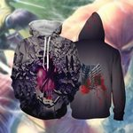 Scout Regiment Attack On Titan 3D Hoodie