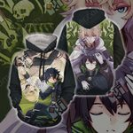 Seraph of the End - Yui and Mika Unisex 3D Hoodie